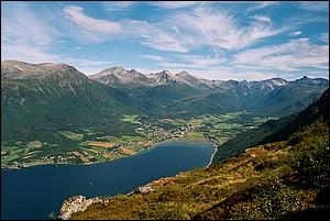 Isfjorden, Hen, Kirketaket, Juratind, Tokle, Brevik, Romsdalsfjord, fiord